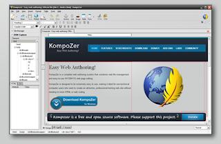 KompoZer ,Free Web designer tool similar to Dreamweaver