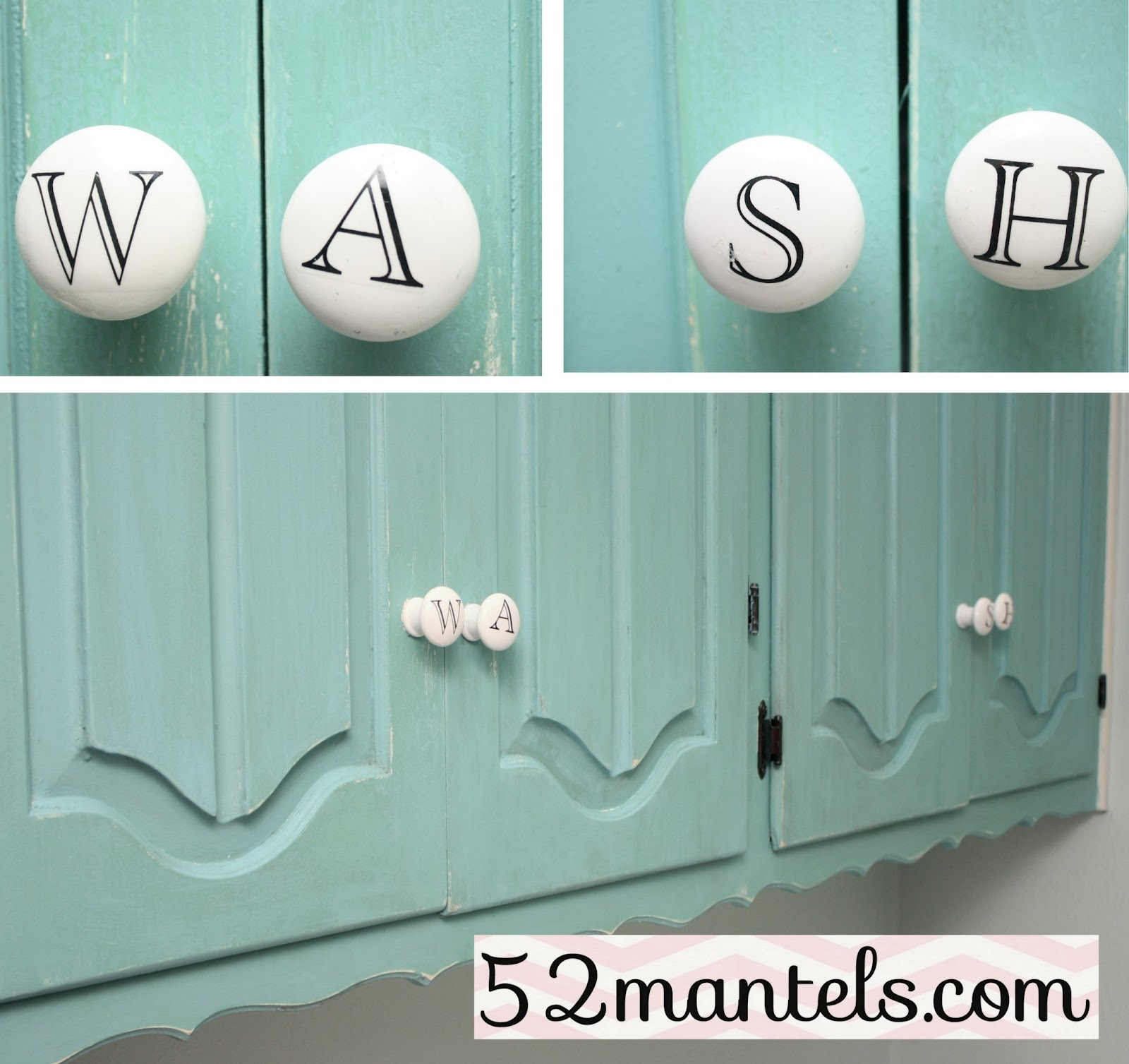 52 mantels laundry room makeover for Laundry room door knobs