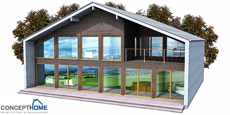 Contemporary House Plans Contemporary Home Ch151