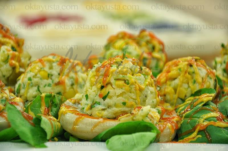 Patatesli Enginar Salatası Tarifi Yapımı