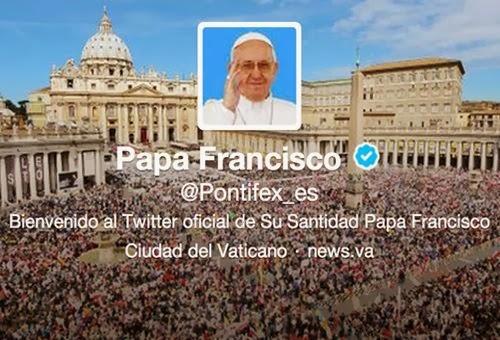 @Pontifex, el más visitado