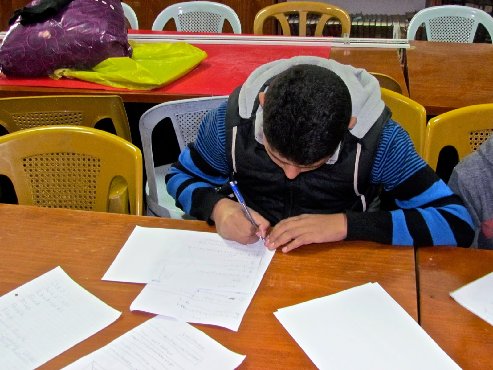 creative writing teach it main idea