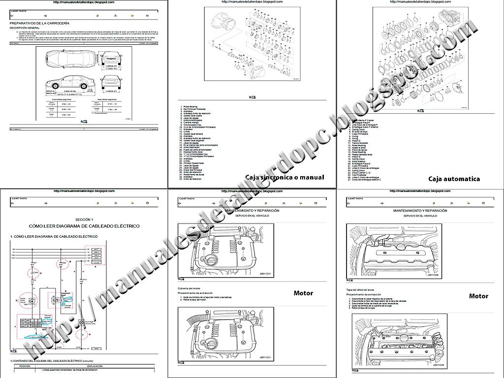 Manual De Taller Chevrolet Optra Manuales De Taller Do Pc