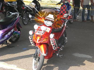 Yamaha MIO sporty modif contes