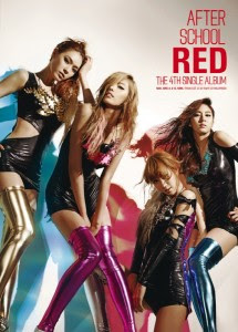After School Red – In The Night Sky Single Album