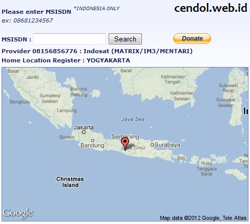 ... HP Telkomsel, Indosat, Three, Axis, Esia, Smartfren, Ceria dan Flexi