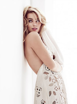 Margot Robbie Harpers Bazaar Magazine UK April 2015