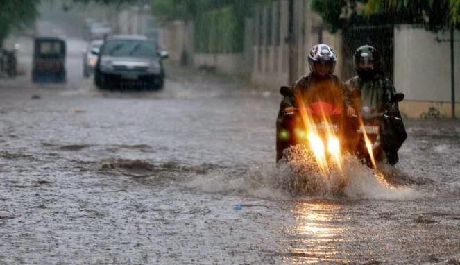 BMKG Perkirakan Hujan Lebat Guyur Jabodetabek Seharian