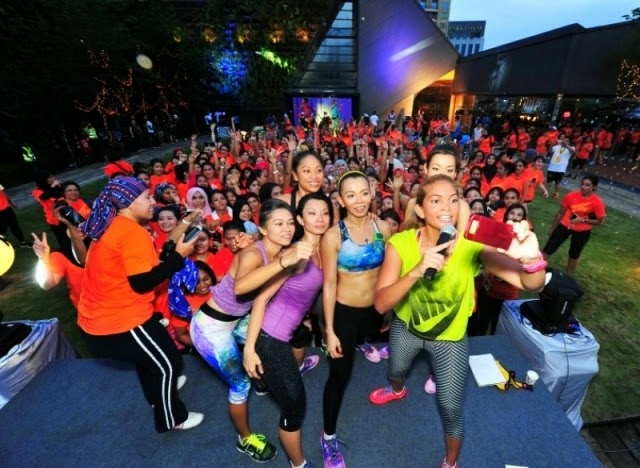 Nike Women Run Free Rooftop Celebration, Nike Women, Run Free, Rooftop Celebration, lot 10 shopping mall, nike, nike malaysia, run, nike training club, running, fitness, DJ Arabyrd, aida sue, sunshine kelly
