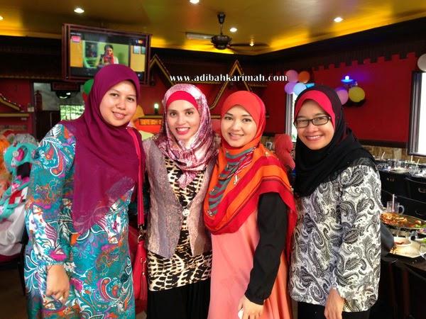 Awesomazing Team selesai projek seafood wo lai bersama team Johor