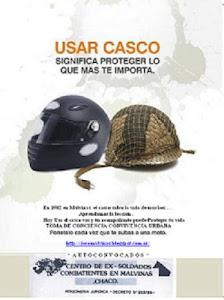 10 06 DIA INTERNACIONAL DE SEGURIDAD VIAL * USA LA CABEZA Y PROTEGELA