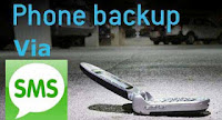 Mobile Phone Backup Process through SMS