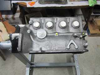 Volvo B20 engine masked