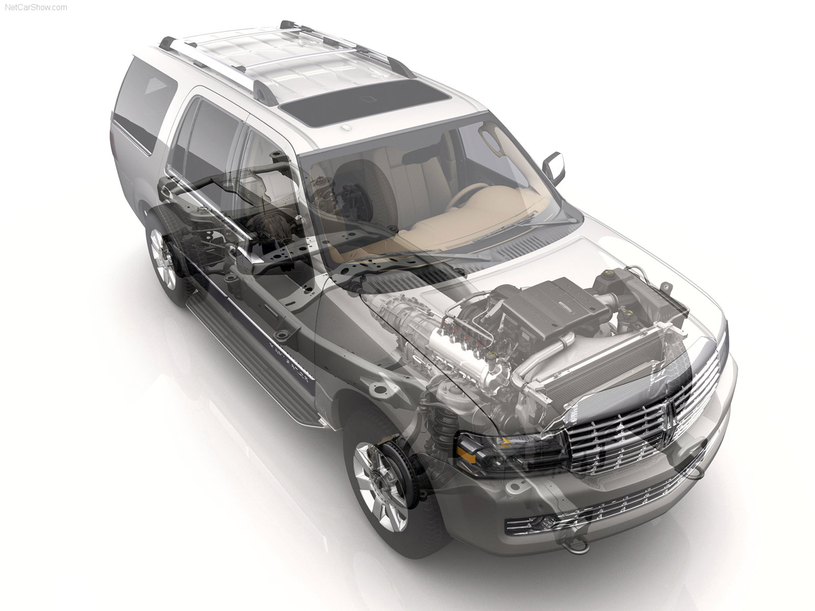 Hình ảnh xe ô tô Lincoln Navigator 2007 & nội ngoại thất
