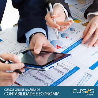 Cursos Online na área de Contabilidade e Economia