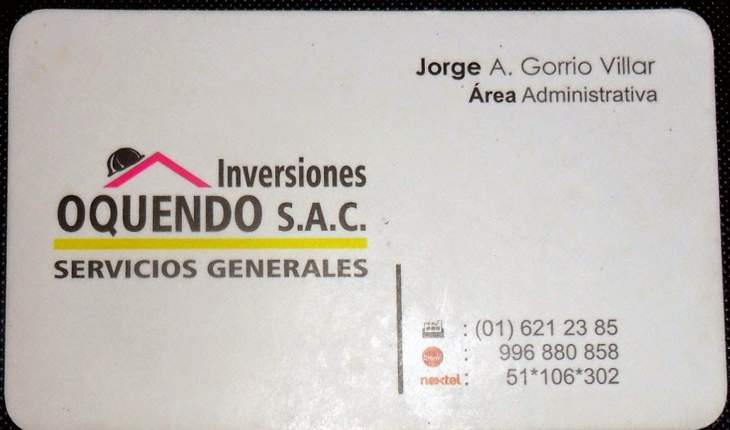 SERVICIOS GENERALES EN SMP