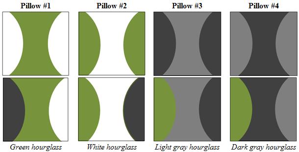 nikki's studio: interweave knits: hourglass pillows