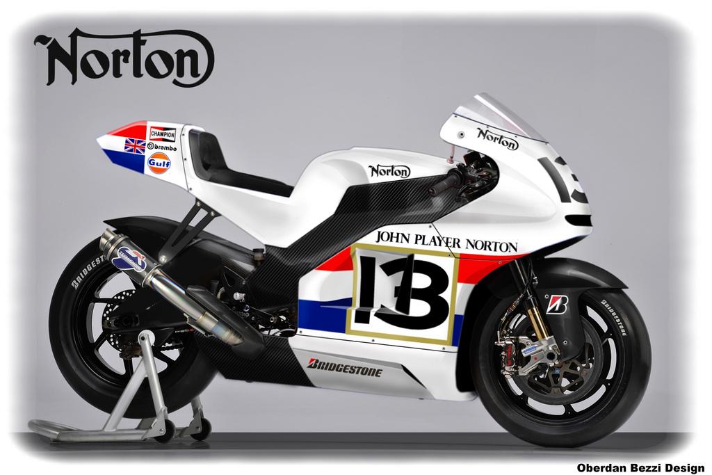 racing caf racing concepts norton moto 1 by oberdan bezzi. Black Bedroom Furniture Sets. Home Design Ideas