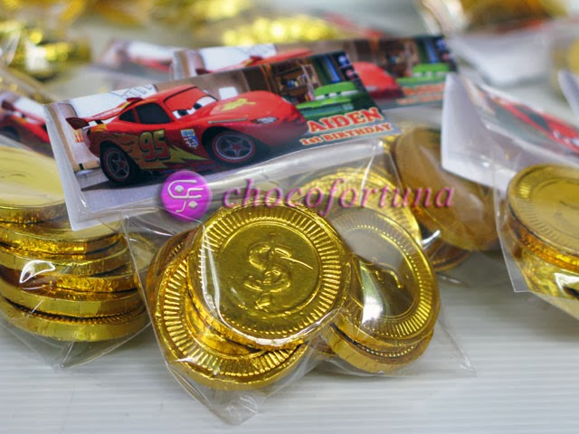 Souvenir ulang tahun birthday Goodie Bag Cars
