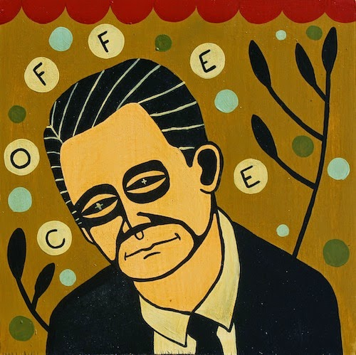 Twin Peaks Painting and Print Series by Mike Egan - Agent Dale Cooper
