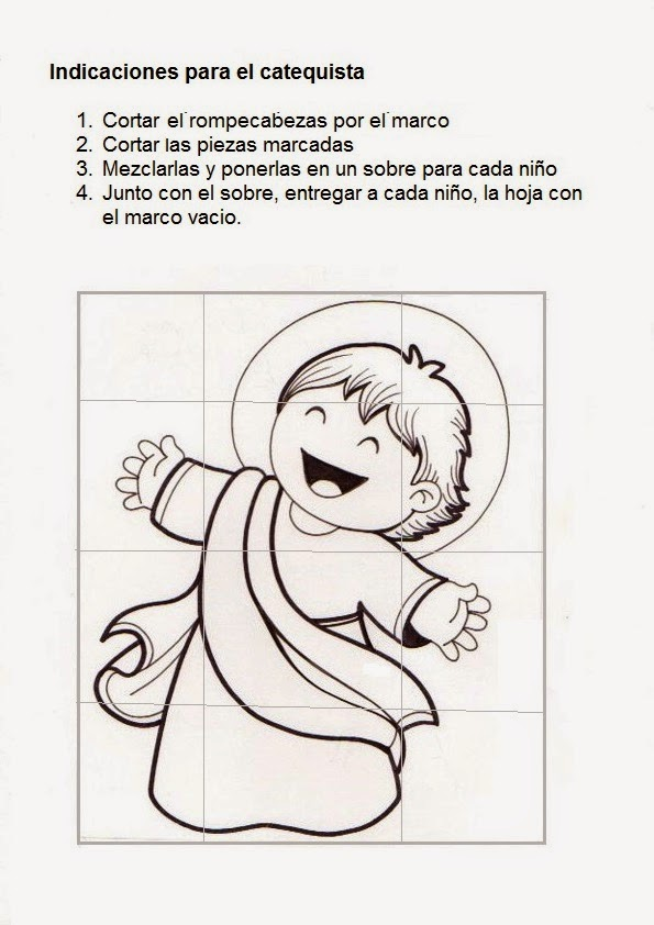 La Catequesis (El blog de Sandra): Recursos Catequesis Divino Niño ...