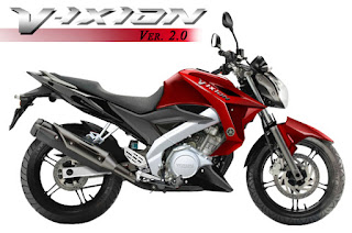 all new vixion 2013