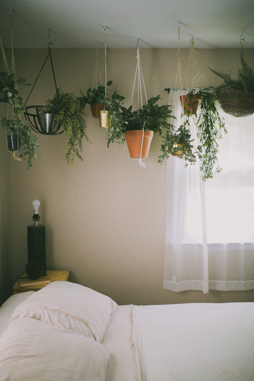 Sincerely kinsey secret garden for Hanging bedroom