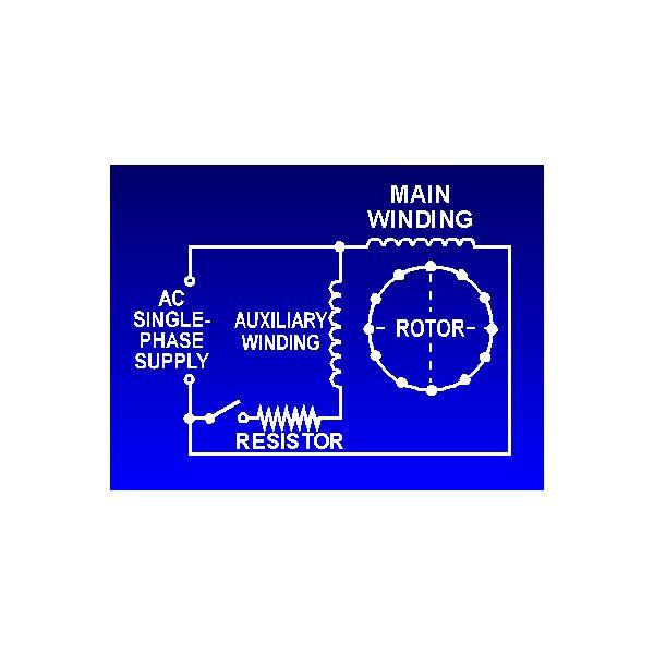 Ac Motor Capacitor Wiring
