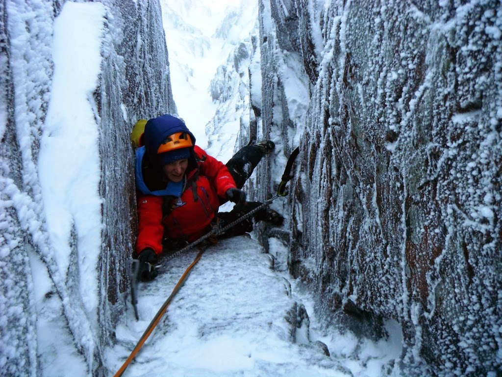 Winter and Rock Climbing Conditions: 03-01-15, Ben Nevis ...