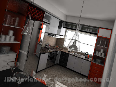 Stands 90s2000 free lance cocina 3d en departamento for Disenar mi cocina en 3d gratis