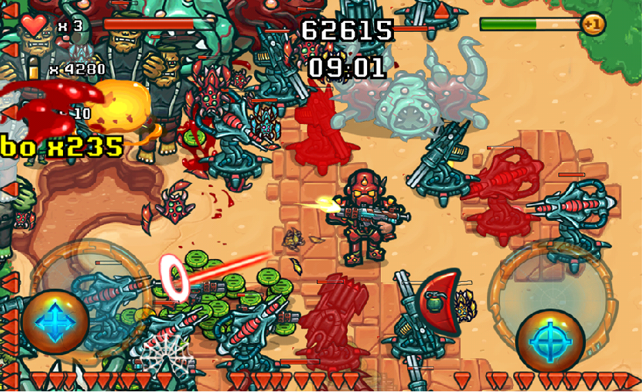 Galaxy Recon : Zombie on Fire v1.1 Apk for Android