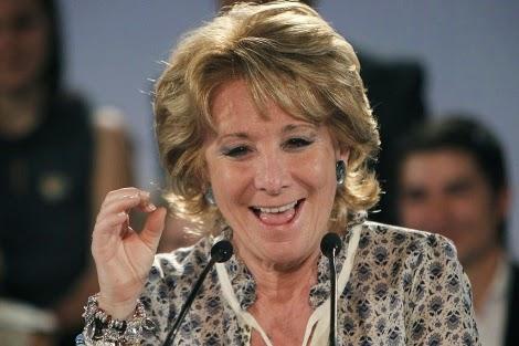 esperanza aguirre, madrid, partido popular, corrupción. gürtel