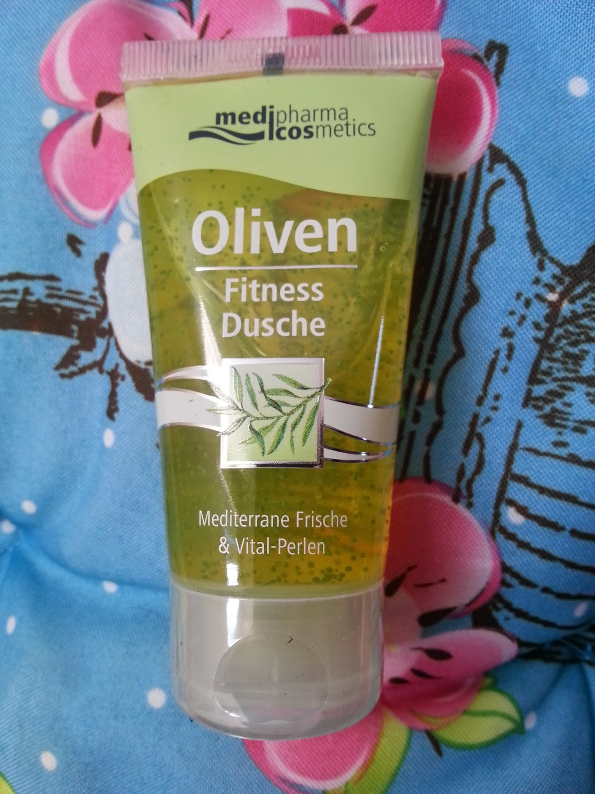 Medipharma Cosmeitcs - Oliven Fitness Dusche - www.annitschkasblog.de
