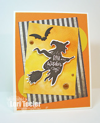 Best Witches card-designed by Lori Tecler/Inking Aloud-stamps and dies from Lil' Inker Designs
