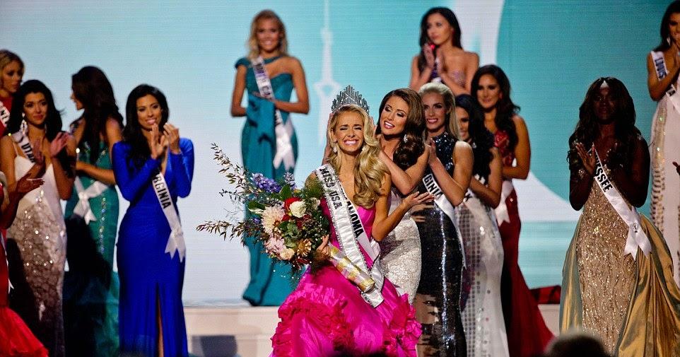 Miss USA Olivia Jordan On Her Way To Miss Universe 2015