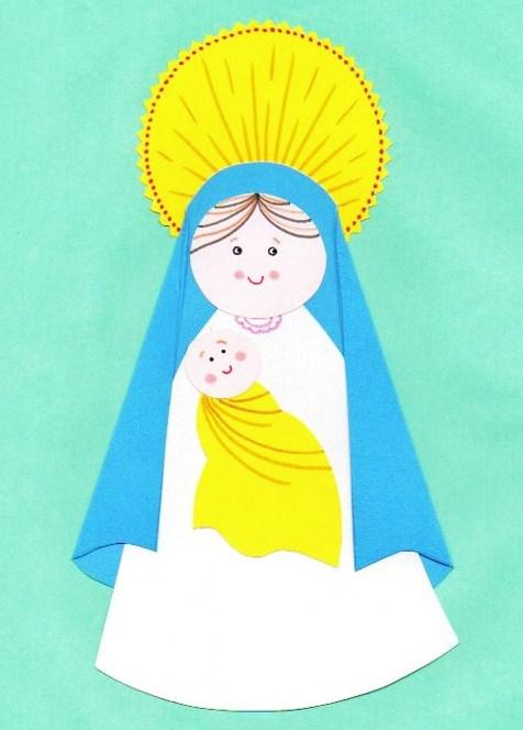 Blog para una Navidad Feliz: Manualidad: Tarjeta de la ...