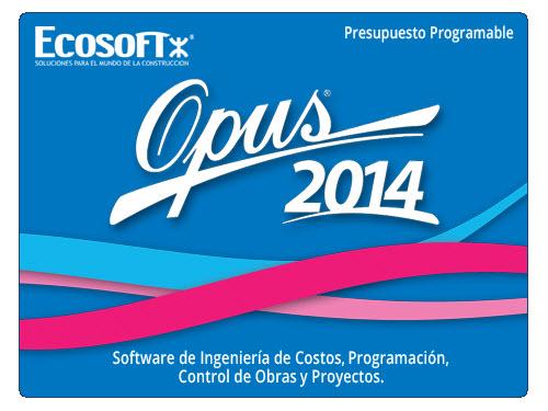 COMPRAR OPUS 2014
