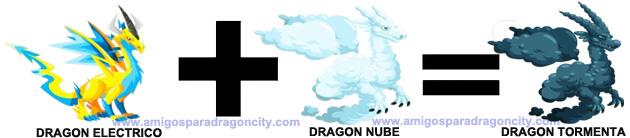 como sacar el dragon tormenta en dragon city
