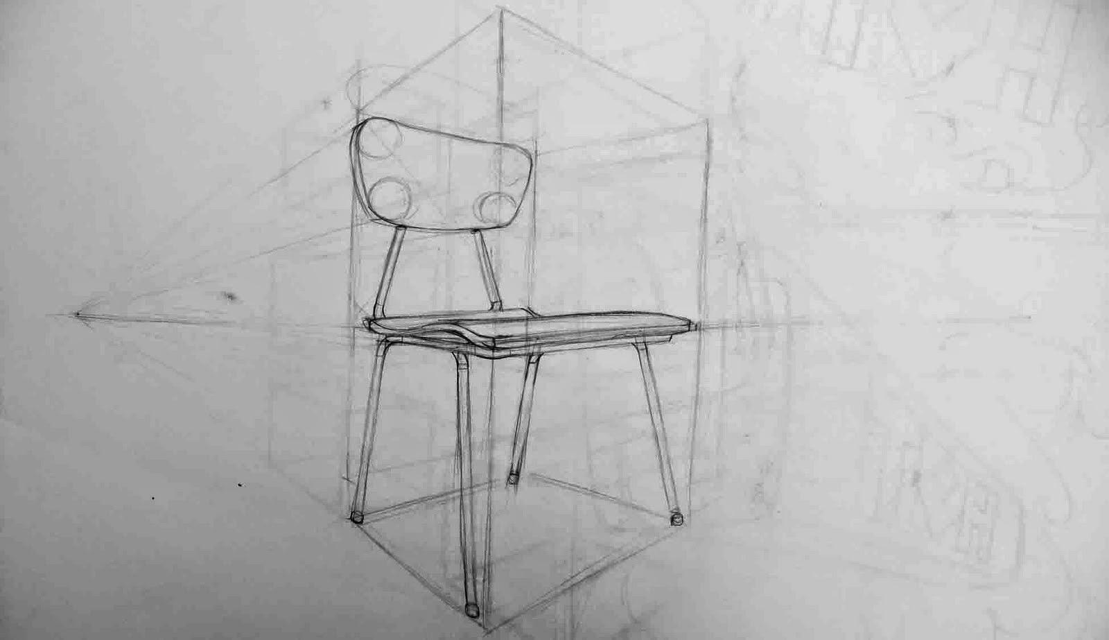 El cuarto de estudio dibujar una silla for Sillas para dibujar