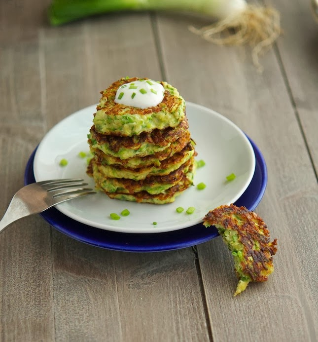 Zucchini Fritters (Low Carb & Gluten-Free)