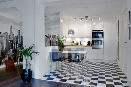 70 m como decorar papo de design - Cocinas para pisos pequenos ...