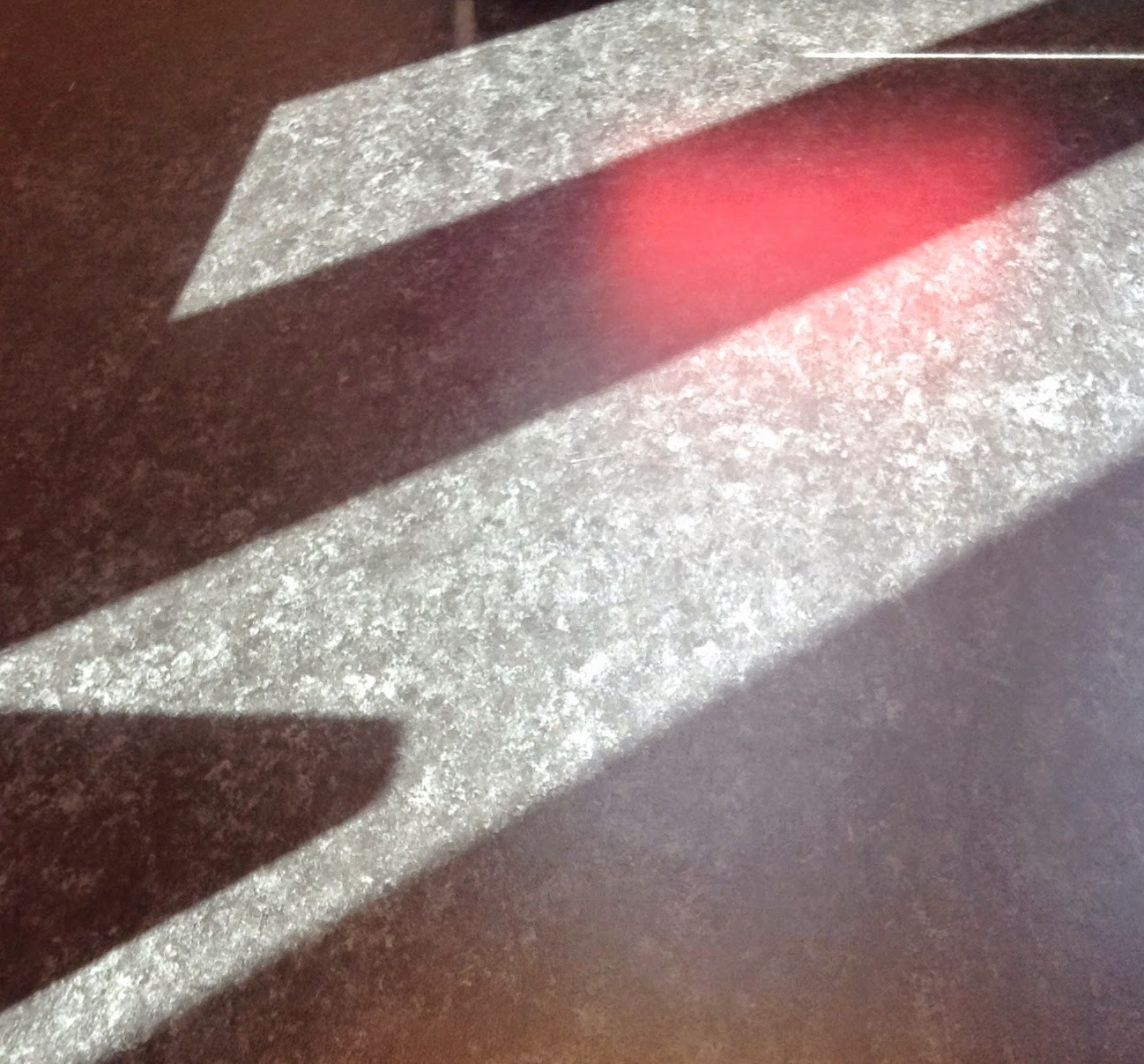 Light on floor of waiting room.