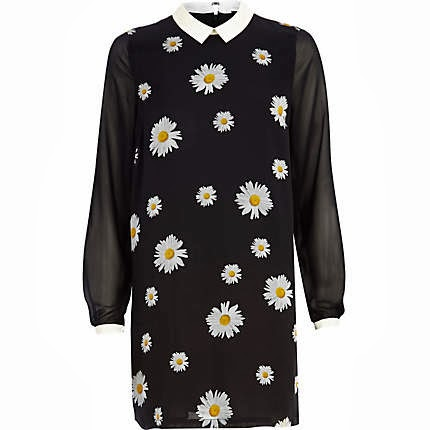 daisy collar dress