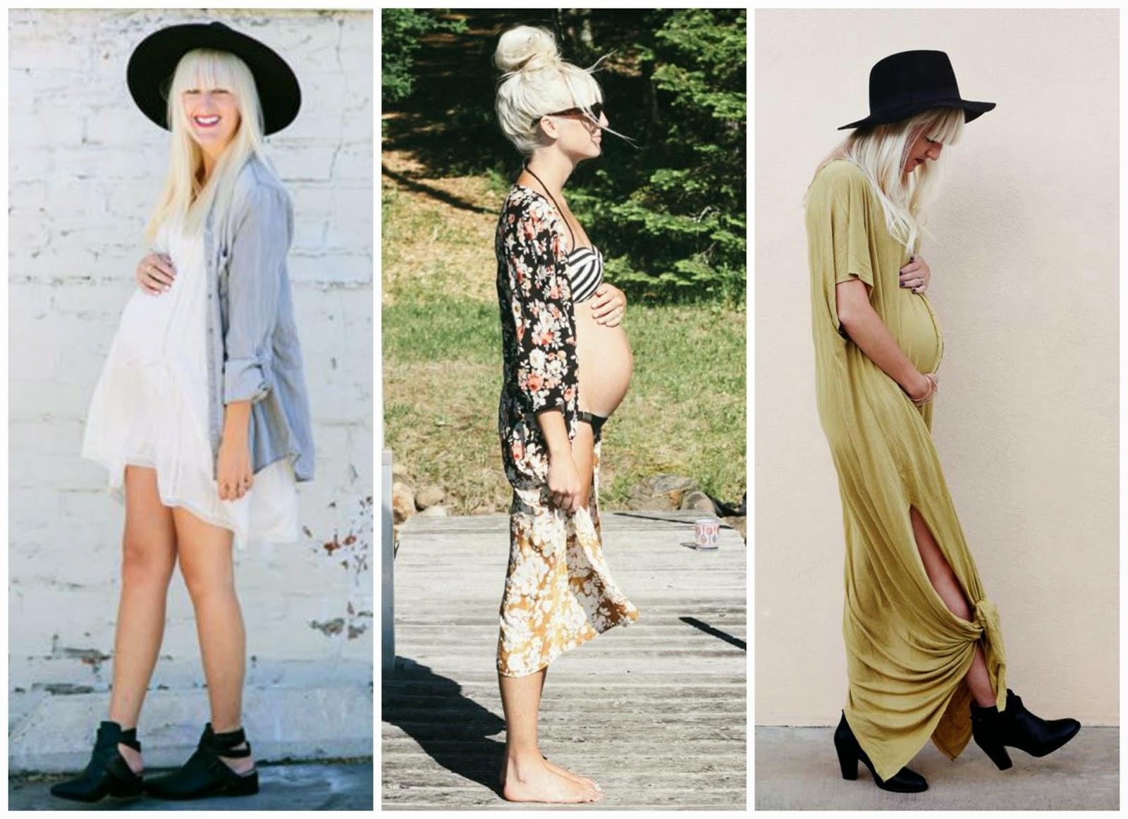 Bohemian Maternity Dresses