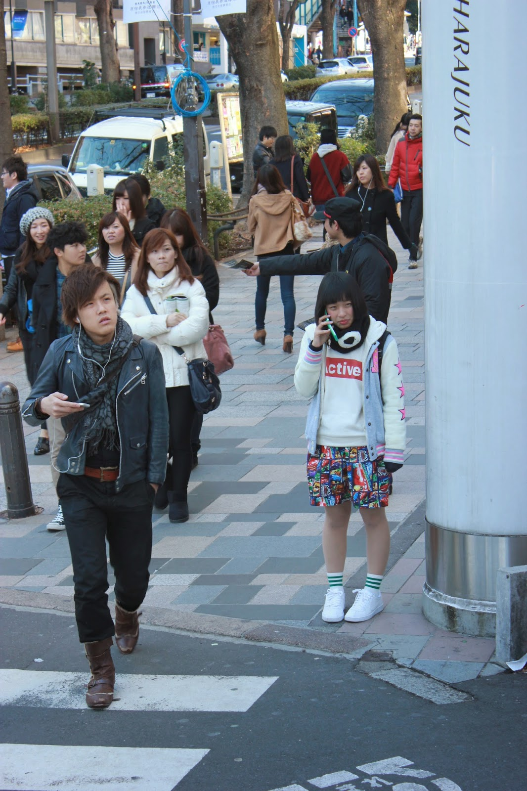 Corner of Harajuku Street