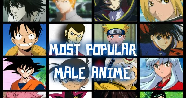 TOP FIVE TOP FIVE MOST POPULAR MALE ANIME CHARACTERS