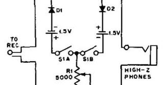 simple audio clipper circuit diagram