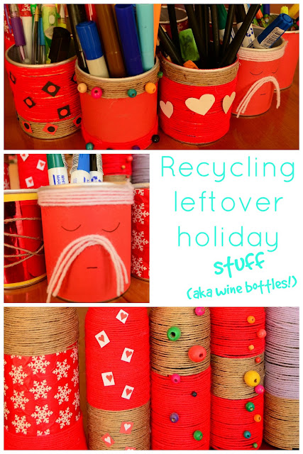 The Practical Mom: Recycling Leftover Holiday Stuff