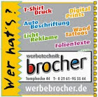 Werbetechnik Brocher
