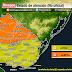 ALERTA |  Tormentas fuertes y lluvias abundantes (PM Lun 21 y Mie 23/12)